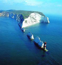 \\ The Needles, Isle of Wight, England    by wightlink http://www.wightlink.co.uk/