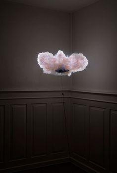 Dust plume lamp. Is this foo-foo or what?