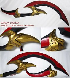 diana weapon and other props which you want