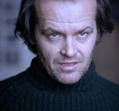 """Jack Nicholson, """"El Resplandor"""", 1980"""