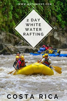 2 day white water rafting adventure in Costa Rica. Click through to read our experience: http://mytanfeet.com/activities/2-day-white-water-rafting-trip-in-costa-rica/