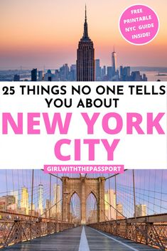 Want to visit NYC like a REAL New Yorker? Then read these Secret NYC tips and get a FREE, printable, expert, NYC travel guide too! Usa Travel Guide, Travel Usa, Travel Guides, Travel Tips, Travel Destinations, Visiting Nyc, New York City Travel, Koh Tao, United States Travel