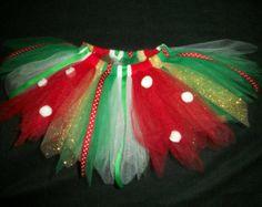 Christmas Sparkly Santa Bow large 5 inch bow por CatyRoseBows