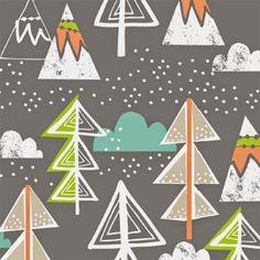 print & pattern blogs - maude asbury Scandinavian Fabric, Scandinavian Pattern, Kids Patterns, Print Patterns, Illustrations, Christmas Illustration, Surface Pattern Design, Print Design, Fabric Design
