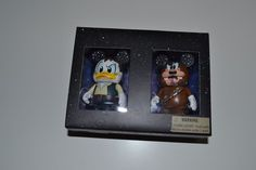 DISNEY VINYLMATION STAR WARS DONALD as HAN SOLO & GOOFY as CHEWBACCA LE 1500