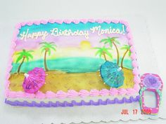 Hawaiian Cake Theme
