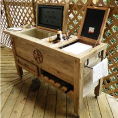 A Friend Of Mine Builds These!!! Iu0027ve Dubbed It Weemsu0027 Party Patio Cooler  Or PPC!!! | Home Stuff I Love | Pinterest | Patio Cou2026