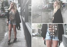 Dreamcatchers are made to rock (by Fanny Lyckman) http://lookbook.nu/look/1004329-Dreamcatchers-are-made-to-rock