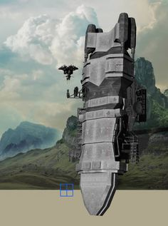 Photoshop 3D matte painting