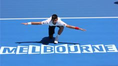 Defending champion Novak Djokovic on Centre Court, Rod Laver Arena ahead of the Australian Open Tennis Tournaments, Tennis Players, Australian Open Tennis, Rod Laver Arena, Match Point, Tennis Championships, Melbourne House, Summer Is Here, Sports Photos