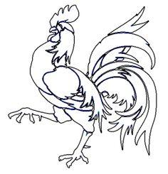 Chicken Patterns to Paint Chicken Crafts, Chicken Art, Chicken Outline, Chicken Quilt, Chicken Pattern, Chicken Painting, Rooster Art, Chickens And Roosters, Galo