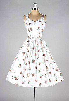Vintage 1950 ' nin elbisesi  ♥♥♥ Vintage 1950's dress
