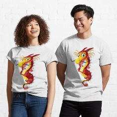 Chinese Holidays, Chinese New Year, Mid Autumn Festival, Red Dragon, T Shirts For Women, Printed, Awesome, Tops, Art