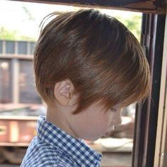 Smooth Textured Choppy Hairstyle - Toddler Boy Haircut