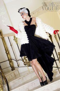 Villains In Vogue by Edgardo Arredondo, via Behance