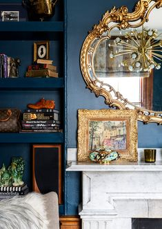 Gold Standard - A Designer's Home That Takes Wallpaper To The Next Level - Photos