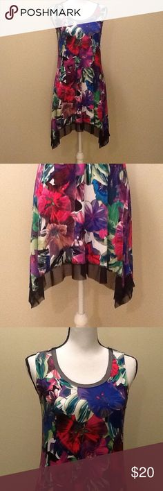 SALE 🌺 Dress Size Small Colorful Floral Beautiful dress perfect for spring and summer, slip on, size small, measures 32 in long, beautiful colorful floral designs, perfect for the pool, lounging, dressing up, wearing anywhere! Material stretches and flows.  Dress is new without tags and in perfect condition.  A perfect dress for your spring/summer wardrobe! Cupio Dresses