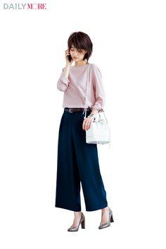 【今日のコーデ/逢沢りな】お疲れモードの金曜日は大人ピンクで気分アップ♡   ファッション(コーディネート・流行)   DAILY MORE