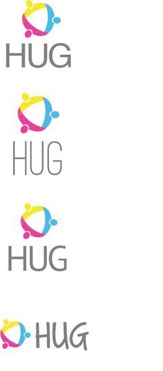 Hug logo design