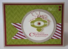 The Christmas Collectibles stamp set along with the coordinating Christmas Punch!