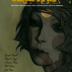A primeira revista 100% brasileira feita por ilustradores, voltada para o mercado de ilustração nacional e internacional.