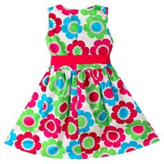Floral Bow Party Dress ... $25