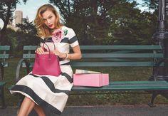 Kate Spade with Karlie Kloss Spring/summer 2015