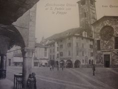 Como, St. Fedele square 20's