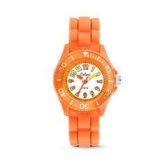 Colori kinderhorloge oranje-geel 30 mm 5-CLK013. Populair oranje trendy Colori kinderhorloge. Dit is hét leukste eerste horloge voor jongens en meisjes! De kinderserie van Colori heeft een verscheidenheid aan kleuren.