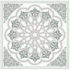 - Archives de modèles ~ Türkisches Kunsthandwerk und Hobbys Vérifiez plus sur Motifs Islamiques, Islamic Motifs, Islamic Art Pattern, Arabic Pattern, Pattern Art, Turkish Design, Turkish Art, Hobby Design, Ant Drawing