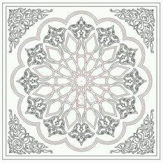 - Archives de modèles ~ Türkisches Kunsthandwerk und Hobbys Vérifiez plus sur Motifs Islamiques, Islamic Motifs, Islamic Art Pattern, Arabic Pattern, Pattern Art, Hobby Design, Motif Oriental, Arabesque Pattern, Turkish Art