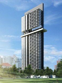 Tower Building, Building Art, Building Exterior, Building Facade, Building Structure, Building Design, Condominium Architecture, Architecture Design, Concept Architecture