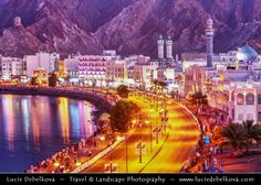 https://flic.kr/p/7EC5ui | Oman - Muscat - Muttrah Corniche at Dusk - Twilight - Blue Hour - Night |  Join me on Facebook   |   Google+  |  Twitter   |   500px     |   Instagram   ~~~~~~~~~  Muscat - مسقط - Masqaṭ is the capital and largest city of Oman. Known since the early 1st century CE as an important trading port between the west and the east, Muscat was ruled by various indigenous tribes as well as foreign powers such as the Persians and the Portuguese Empire at various points in its…