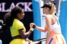 Serena Williams was just too good for Maria Sharapova on the day