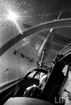 US Air Force KC-97 tanker refueling a B-47 bomber in mid-air |