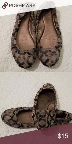 Coach Flats Gently used. Coach Shoes Flats & Loafers