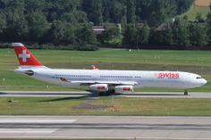 Swiss A340-343 ZRH - CAI My Jumpseat Flight