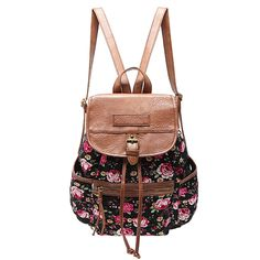cfadf2fa2c4 43.62$ Watch here - MICOCAH :Floral Print Women Backpacks 2016 New Arrival  Fashion Backpack Preppy Style Bag Famous Brand Ladies Bags Good Quality #  ...