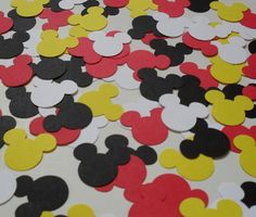 Mickey Mouse Minnie Mouse Birthday Party by PinkPupsDesigns, $3.75