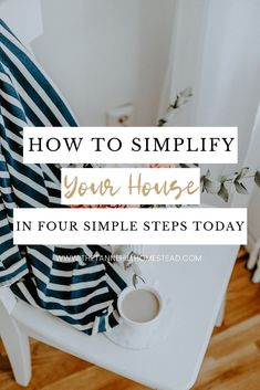 Learning how to simplify your home and keep it that way are extremely important! Your home should feel like an oasis after a long day's work. You deserve it! #simplifyyourhome #simpleliving #howtosimplify #howtosimplifyyourhome #simplify #declutteryourlife #declutteryourhome Simple House, Simple Living, Declutter Your Mind, Clean Space, Clutter Free Home, Slow Living, Day Work, Keep It Simple, Minimalist Living