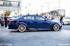 BMW E60 M5 w/ Meisterschaft GT2 & Carbon Fiber Tip @ SEMA 2012 Bmw M5 E60, Carbon Fiber, Cars, Autos, Car, Automobile, Trucks