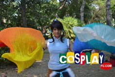 Korra Cosplay from The Legend of Korra at RIMINI COMIX 2013