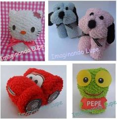 Sock Crafts, Craft Stick Crafts, Diy Crafts For Kids, Napkin Origami, Towel Origami, Baby Shower Game Prizes, Baby Shower Gifts, Homemade Gifts, Diy Gifts
