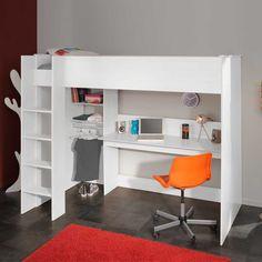 hochbett beverli mit schreibtisch 4 teilig kinderzimmer pinterest hochbetten. Black Bedroom Furniture Sets. Home Design Ideas