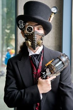 blackburtcrow:  Steampunk Cosplay