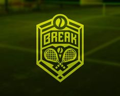 Break / Tennis Center by belc - logo design - logopond.com