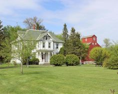 Our search for the perfect farmhouse might never end (anyway, it's way too much fun), but this Victorian beauty in Sabin, Minnesota is one of the prettiest we've ever come across.