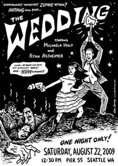 Spooky Halloween Wedding Invitations Inspiration with Zombie Theme | Goes Wedding