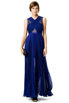 BCBGMAXAZRIA Cross My Heart Gown $115 Rent The Runway