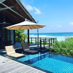 Pure luxury! Our #OceanView Villa at the Shangri-La Villingili Maldives Resort! ☀️